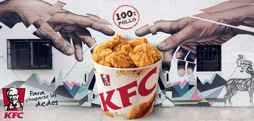 Prueba el delicioso sabor de KFC