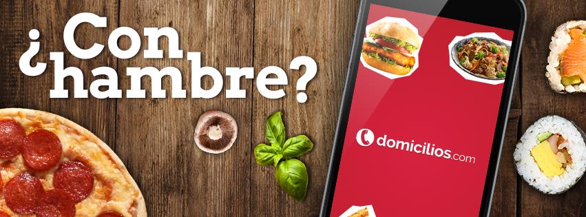 Pide todo tipo de comida en Domicilios.com