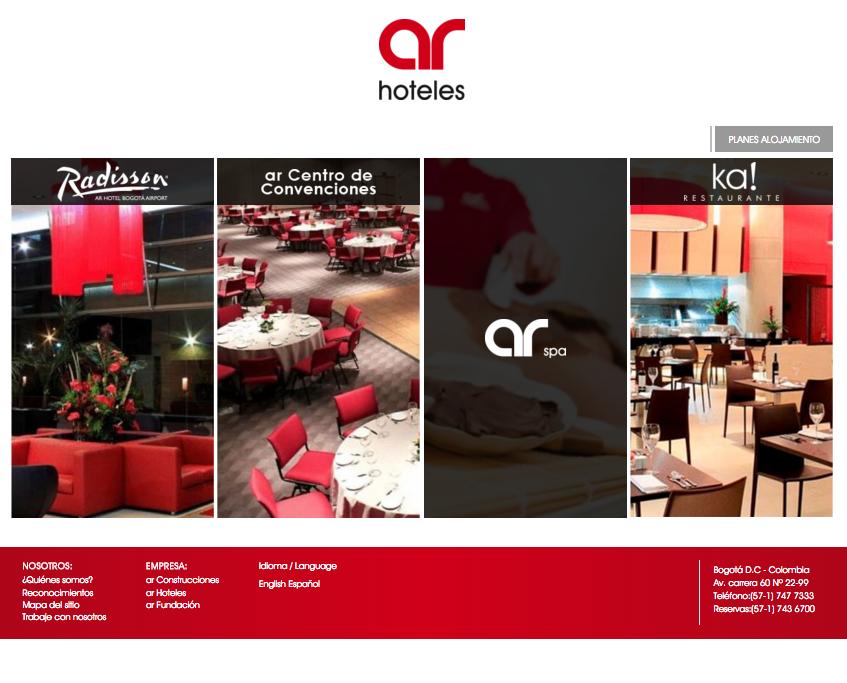 Descuento Código promocional AR Hoteles