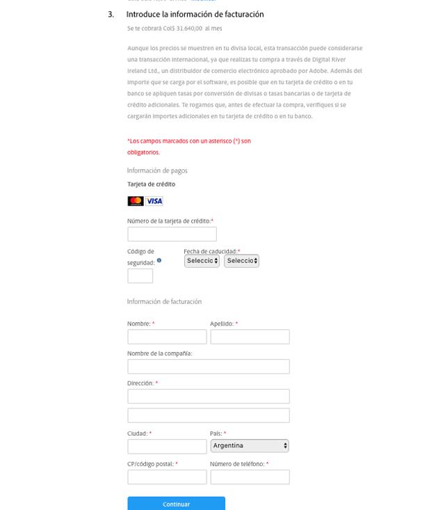 Descuento Cupones, promociones y Descuentos  Adobe
