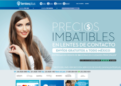 Código promocional LentesPlus 2018
